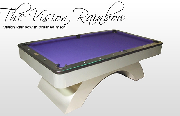 The Vision Rainbow Billiards N More
