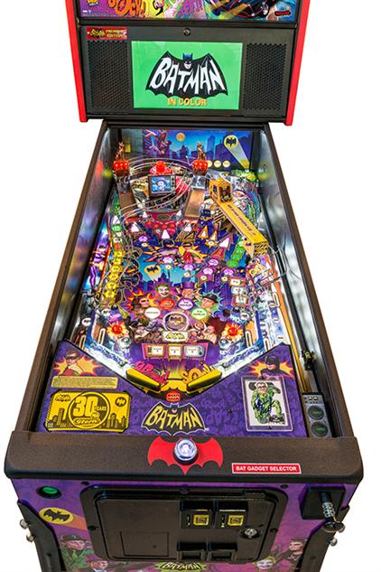 Batman 66 Premium Pinball Billiards N More