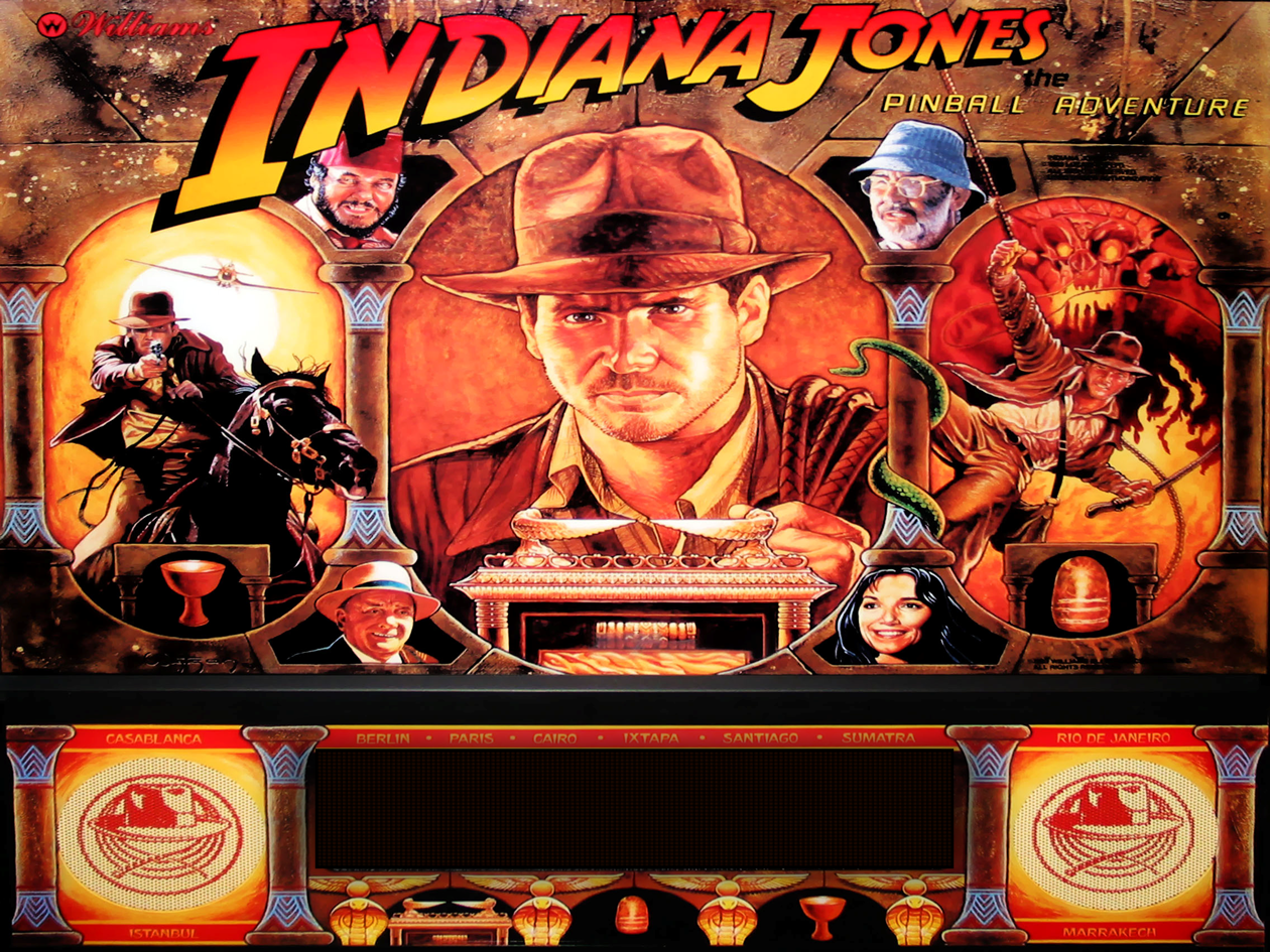 Williams Indiana Jones High End Restoration Billiards N More : INDY1 from billiardsnmore.com size 1260 x 945 png 1992kB