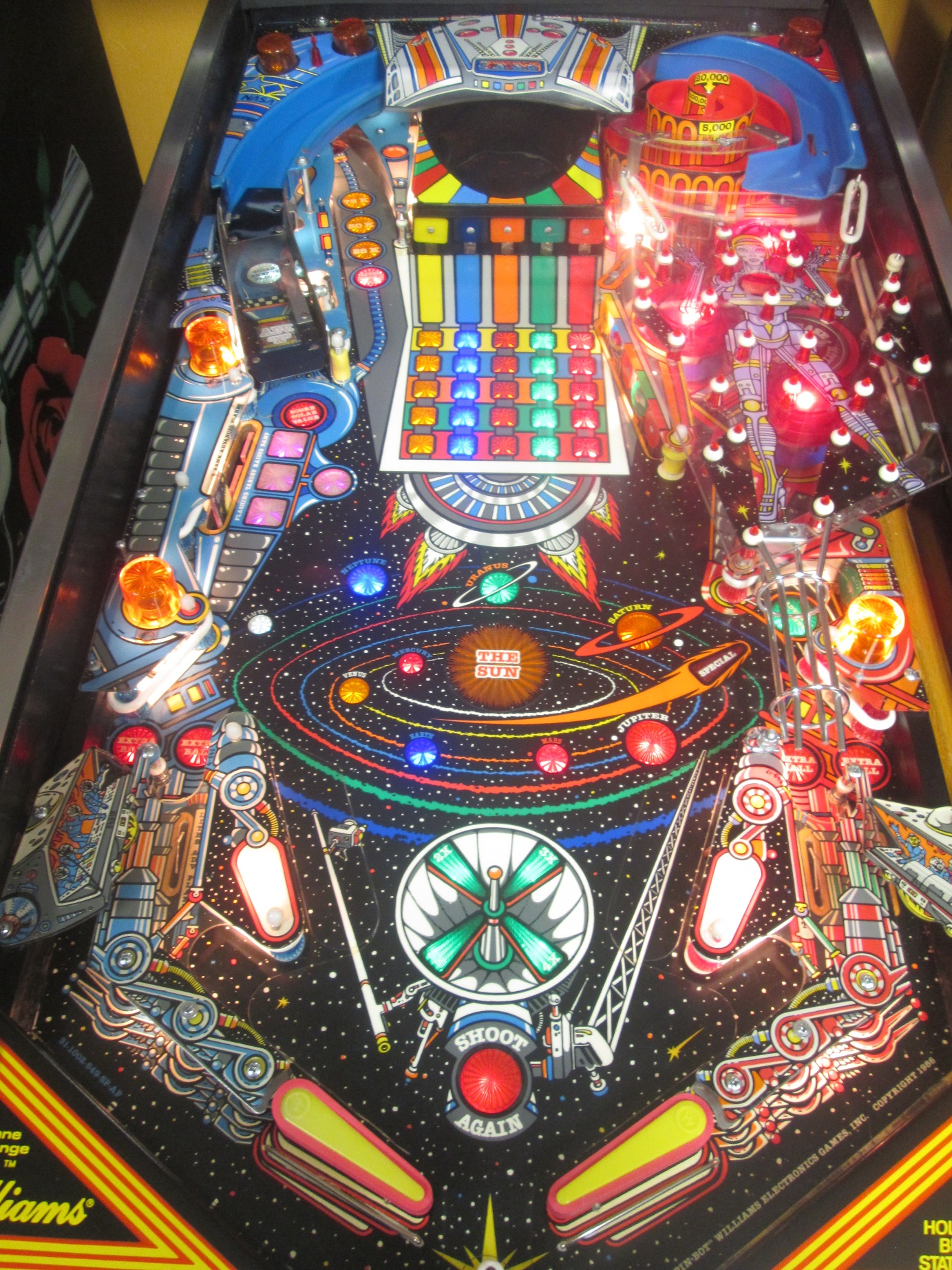 Pinbot Pinball Billiards N More
