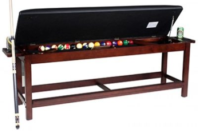 Classic Backless Storage Bench Billiards N More - Under pool table storage