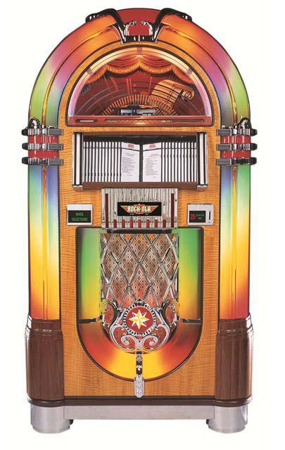 Rock Ola Bubbler Jukebox Billiards N More