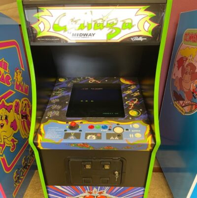 Galaga ICONIC Multigame Full Size Brand New Play 60 to 400 Classic Games! Includes Free Trackball!