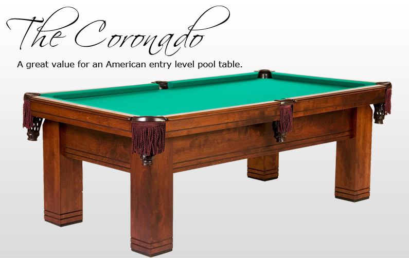 The Coronado Billiards N More - How to level a pool table