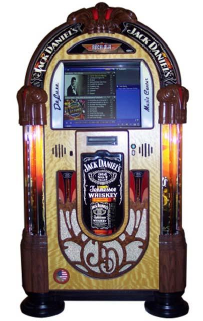 Jack Daniels Digital Jukebox By Rockola Billiards N More
