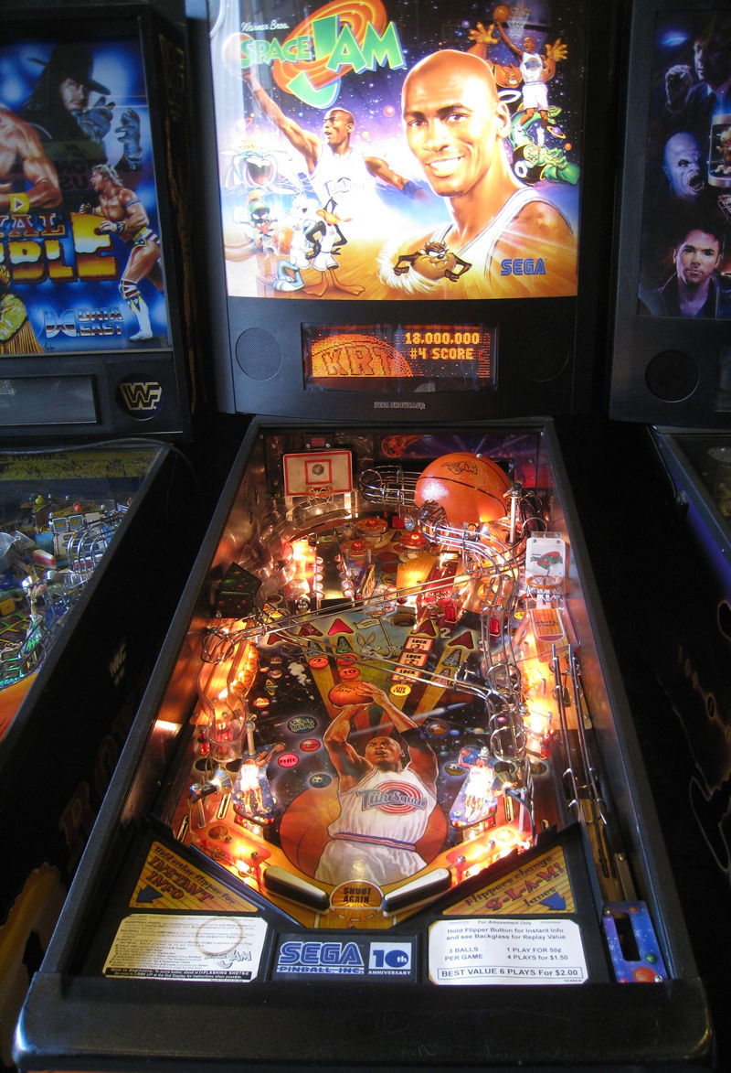 Space Jam Pinball Bugs Bunny Billiards N More