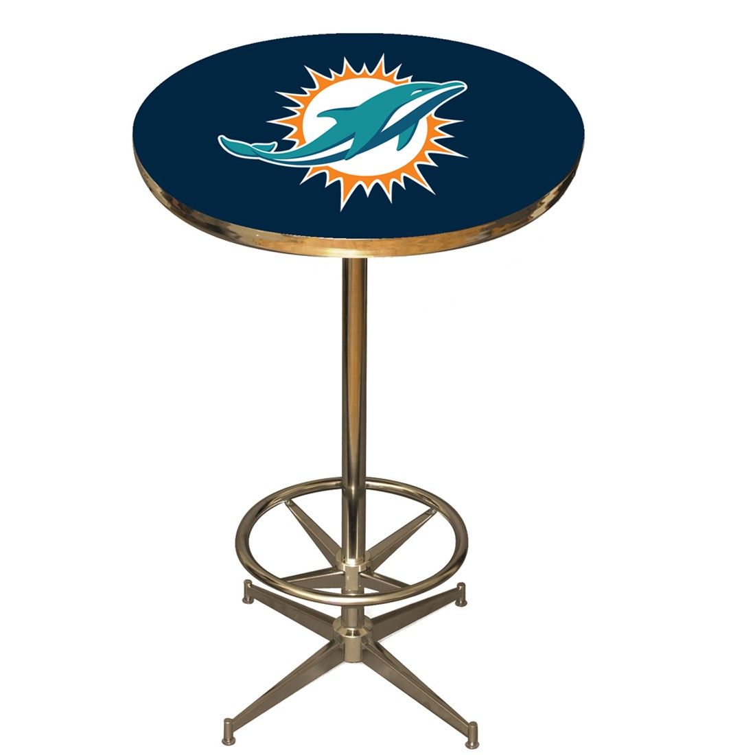 Miami Dolphins Pub Table Billiards N More