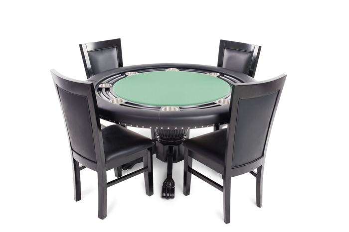 Blackout Poker Table | Billiards N More