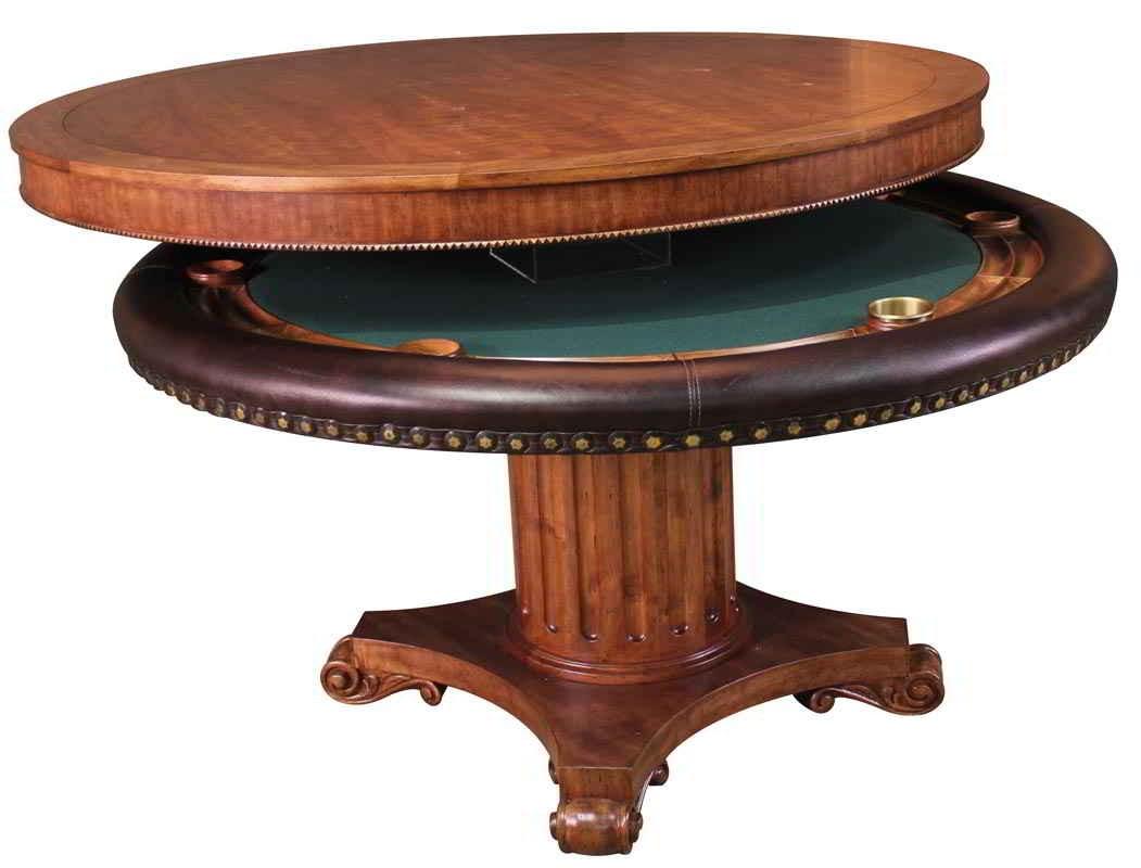 Darafeev Augustus Poker Dining Table Billiards N More