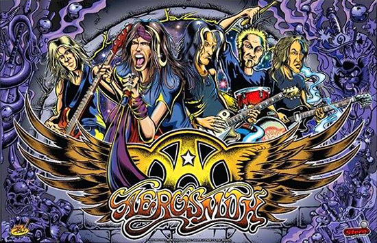 Aerosmith Pinball Billiards N More