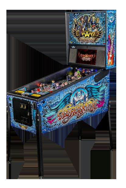 Aerosmith Pinball Billiards N More