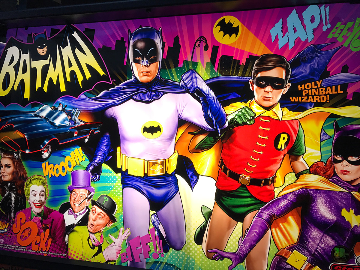 Batman 66 Premium Pinball Billiards N More