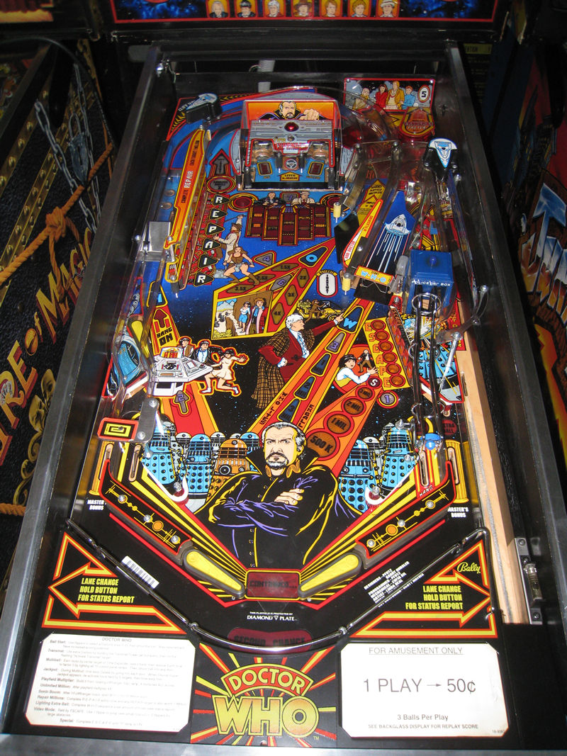 Dr Who Pinball Billiards N More