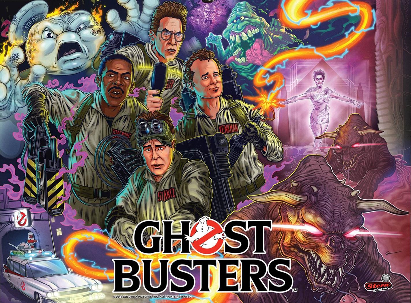 Ghost Busters Premium Pinball Billiards N More