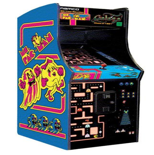 PacMan//Galaga 412 in 1 20 Year Reunion Arcade Donkey Kong 20 in Monitor NEW Ms
