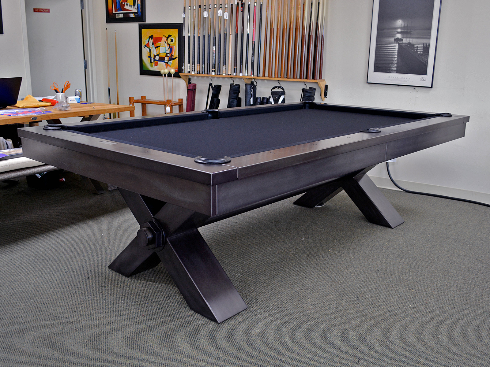 Vox Steel Pool Table Billiards N More