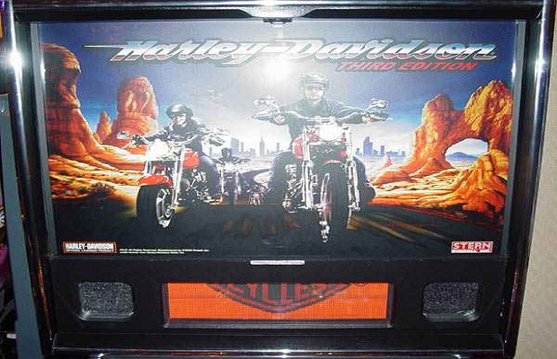 Harley Davidson 3rd Edition Pinball Billiards N More