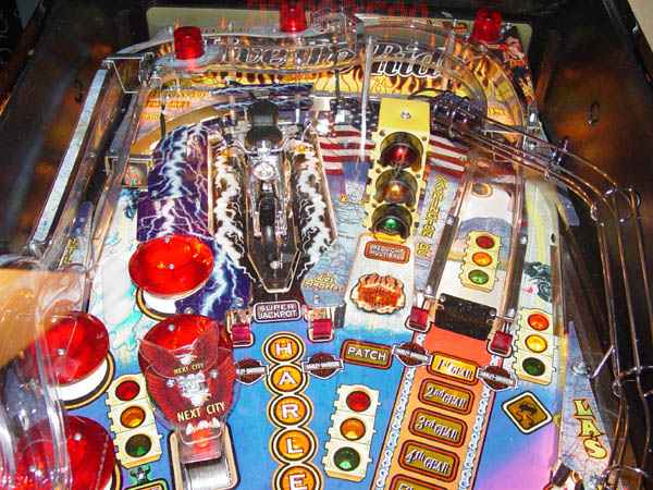 Harley Davidson 3rd Edition Pinball Billiards N More
