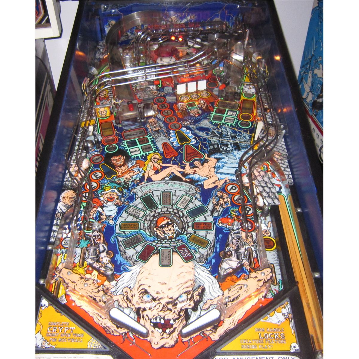 Tales From The Crypt Pinball Billiards N More