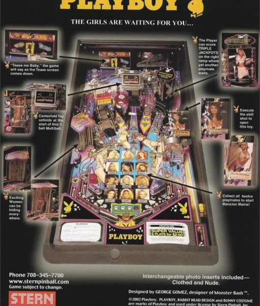 Playboy Pinball Stern