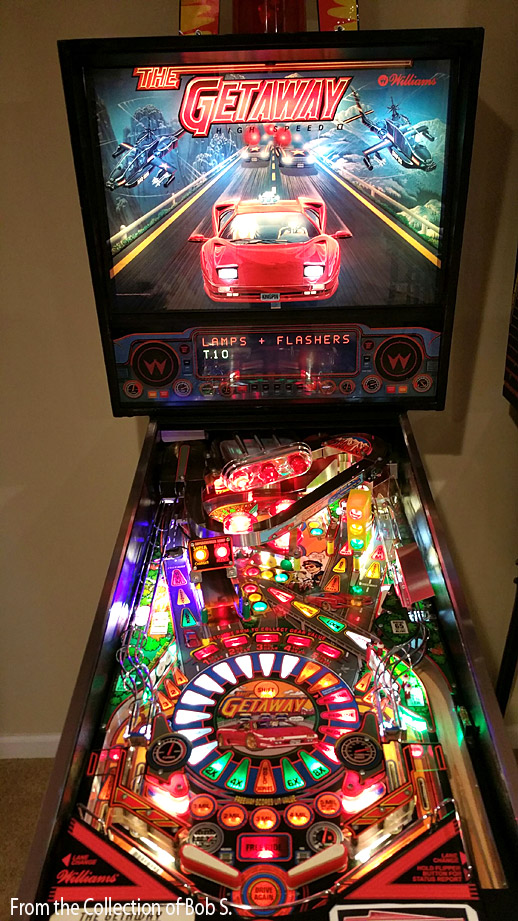 Getaway Pinball High Speed 2 Billiards N More