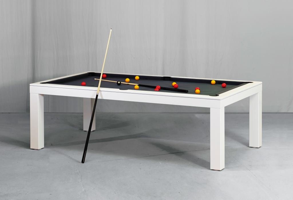 Picesis White Billiards N More - White billiard table