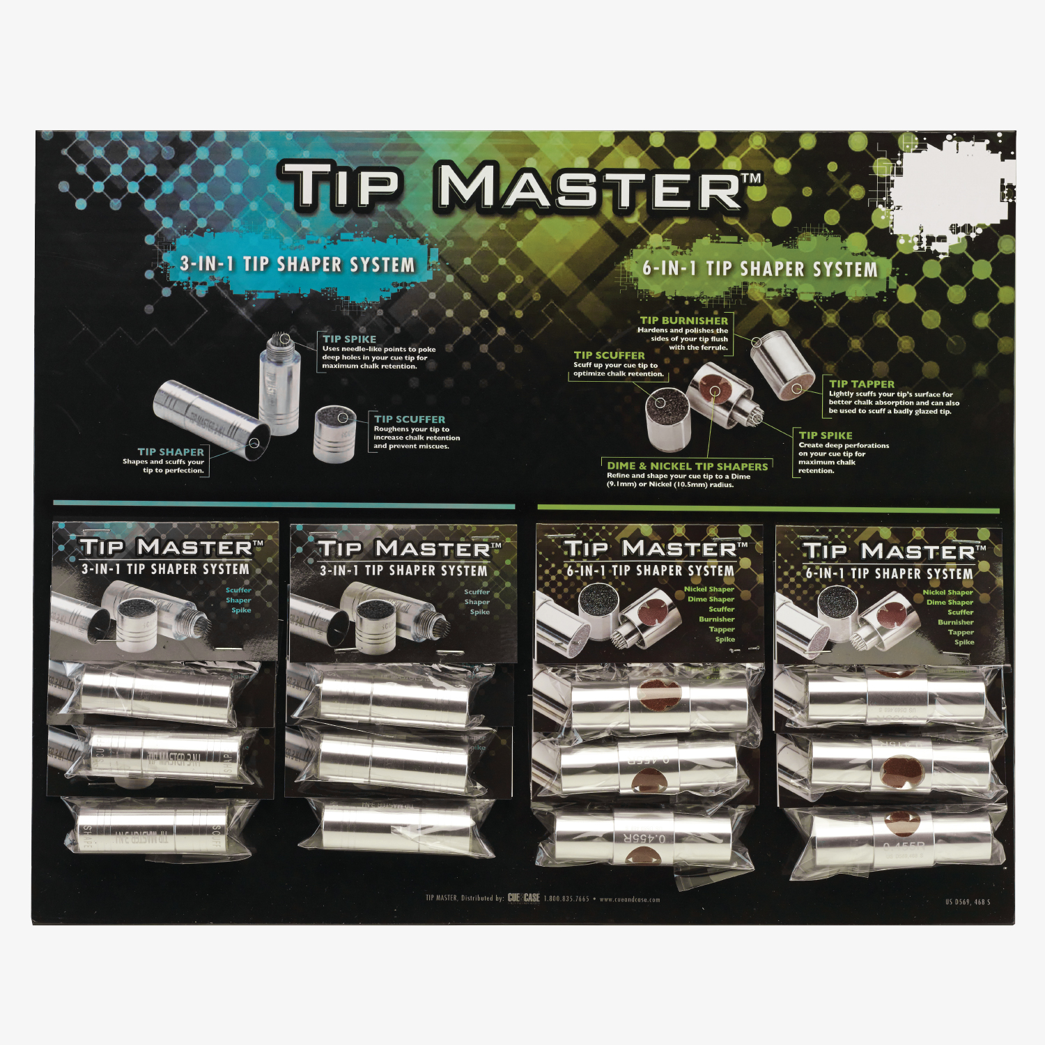 Tm3 6card Tip Master 3 In 1 Amp 6 In 1 Tip Tools Card Of 12