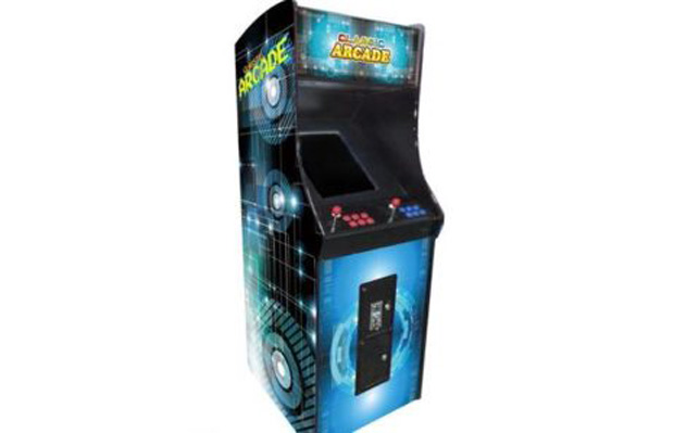 FULL-SIZED UPRIGHT ARCADE GAME FEAT  60 CLASSIC GAMES