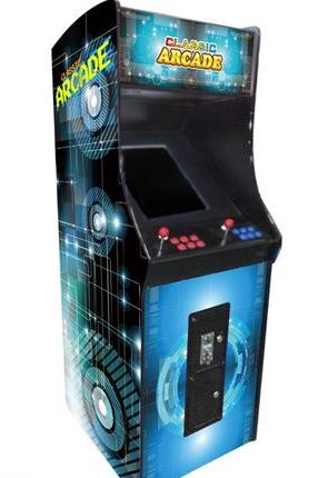 FULL-SIZED UPRIGHT ARCADE GAME FEAT  412 CLASSIC AND GOLDEN AGE GAMES