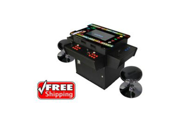 aef3da75d FULL-SIZED, THREE SIDED, COCKTAIL TABLE ARCADE GAME WITH 1,162 CLASSIC,  GOLDEN AGE, AND MIDWAY GAMES | Billiards N More