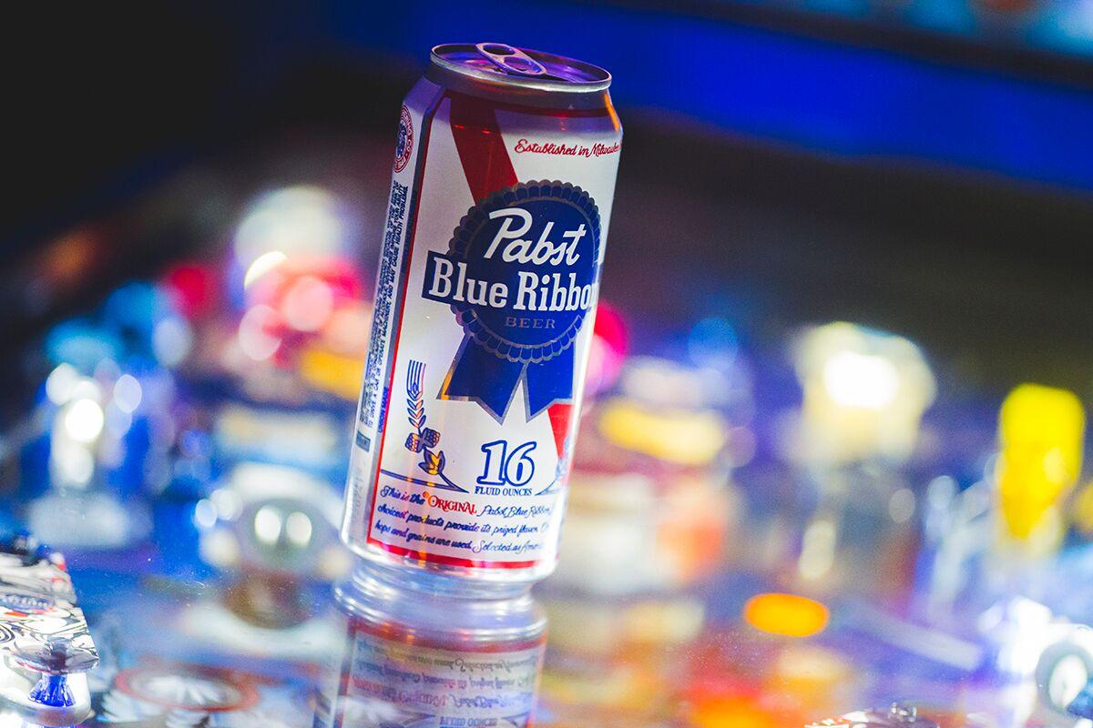 Pabst Blue Ribbon Pinball Billiards N More