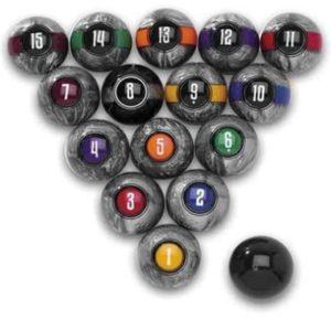Designer Billiard Balls